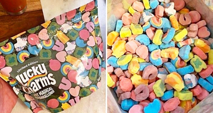 Lucky charms just magical marshmallows cereal