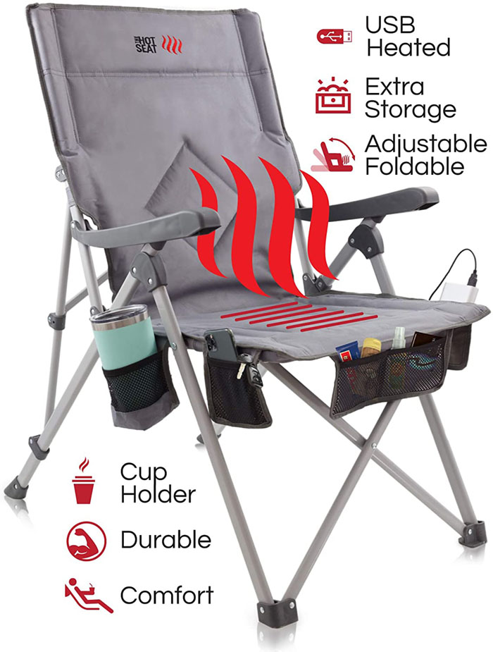 POP Design Hot Seat the Heated Camping Chair