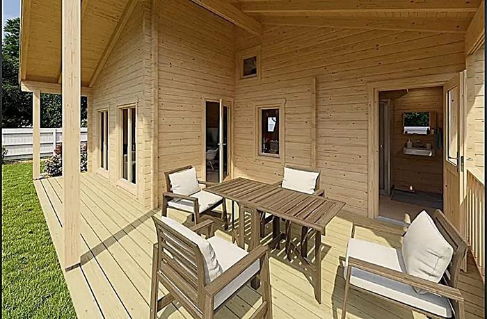 allwood cabin kit porch