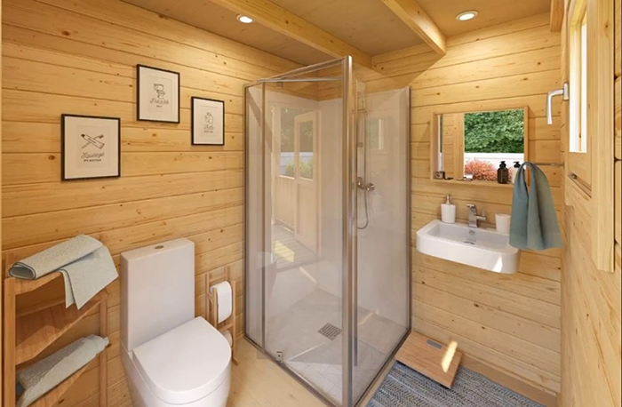 allwood diy house kit bathroom