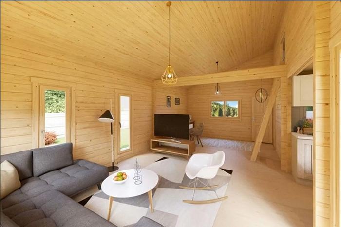allwood diy house kit living room