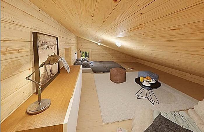 allwood diy house kits loft area