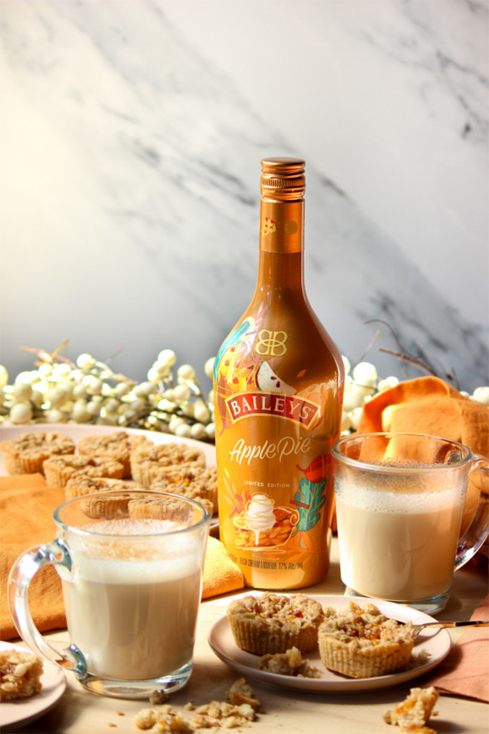 baileys apple pie flavor cream liqueur