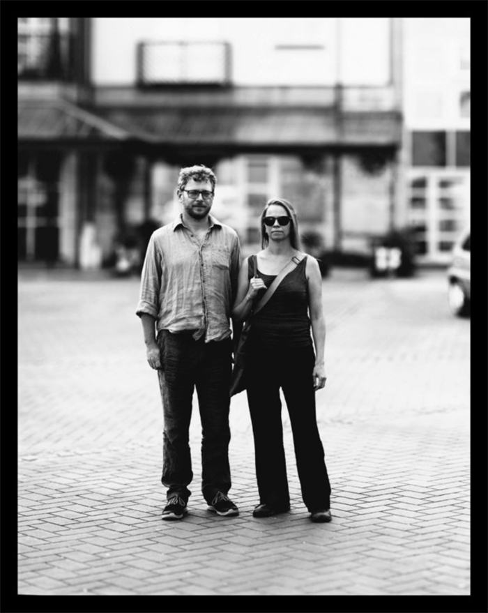 camera obscura photography couple