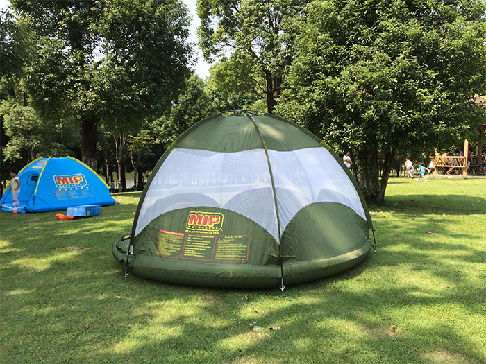 camping tent for land or water