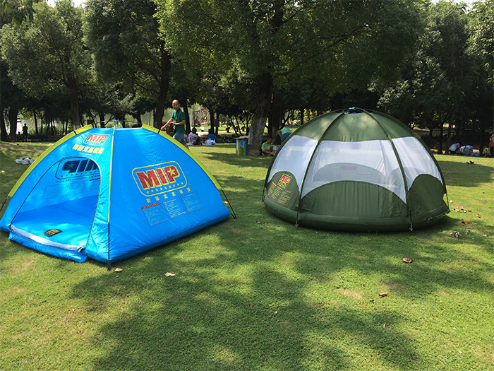 camping tents for land and water
