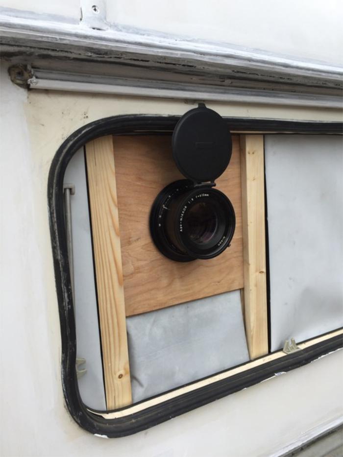 caravan camera lens mount