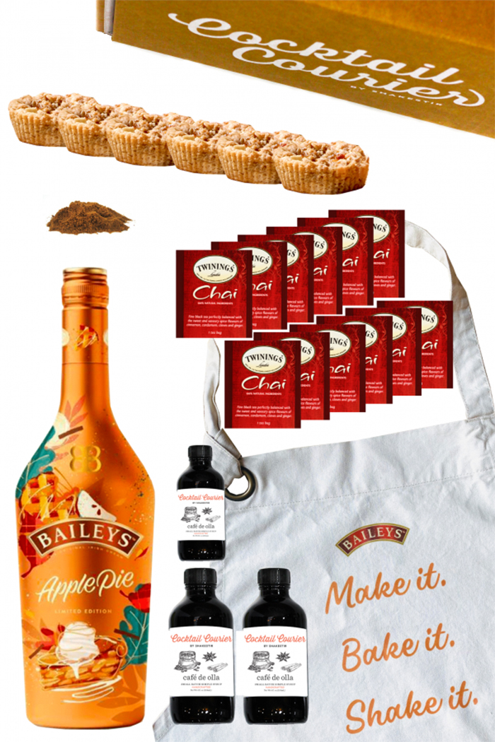 cocktail courier friendsgiving kit 2020