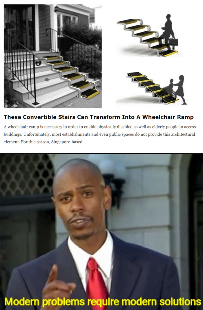 convertible stairs for wheelchair