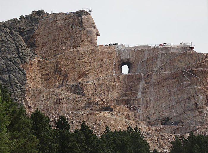 crazy horse memorial black hills south dakota