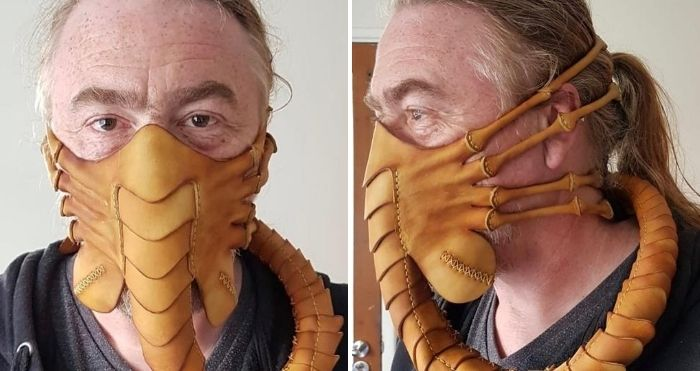 facehugger face mask