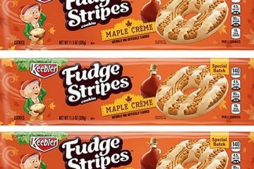 fudge stripes maple creme
