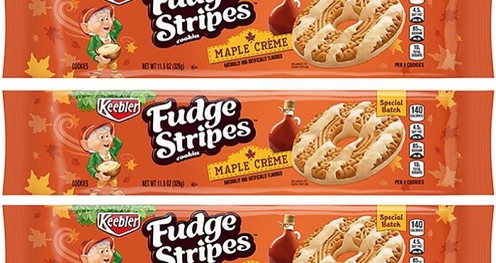 fudge stripes maple creme
