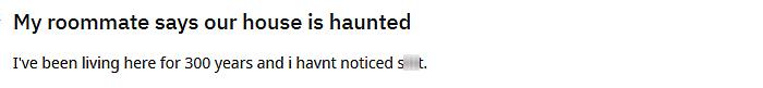 funny jokes haunted house
