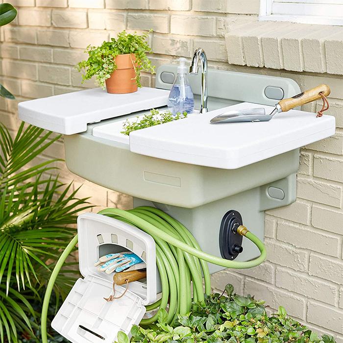 garden hose sink