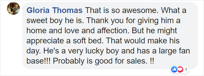 gloria thomas facebook comment