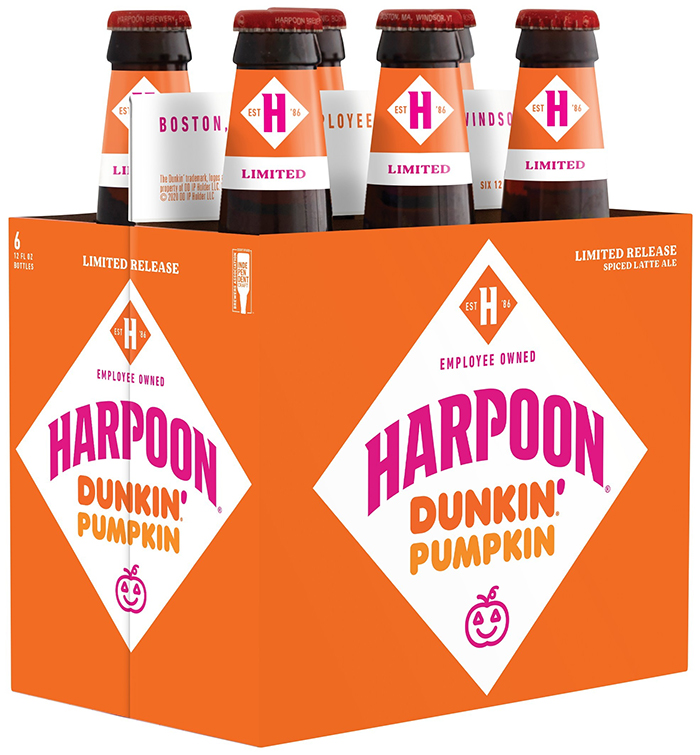 harpoon dunkin pumpkin