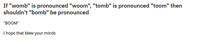 hilarious puns bomb boom