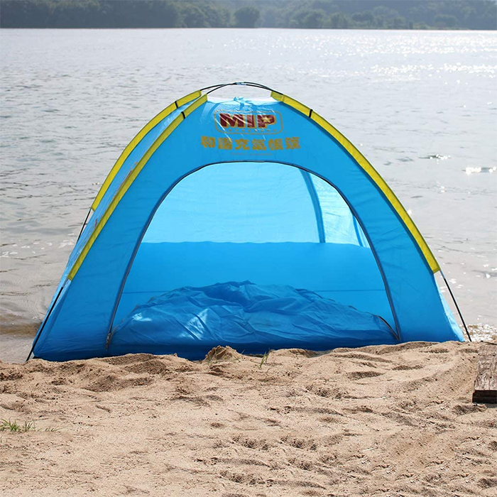 hmsport blue inflatable floating tent