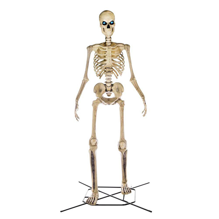 home depot home accents holiday 12-foot skeleton front