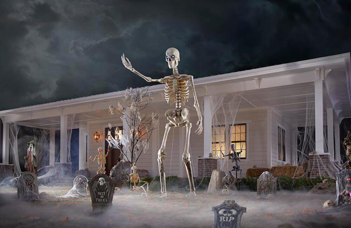 home depot home accents holiday halloween front yard decor