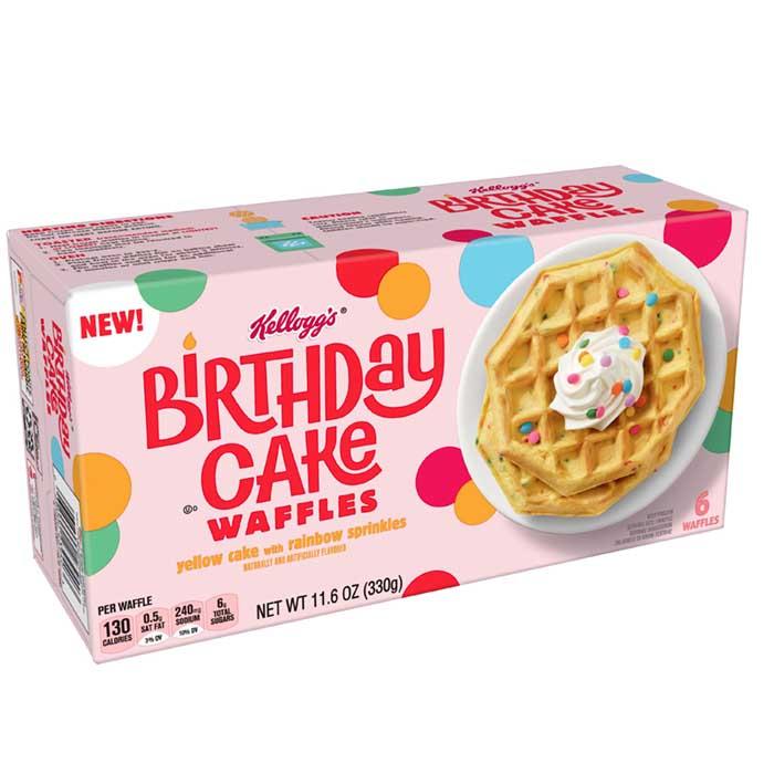 kellogg's birthday cake waffles