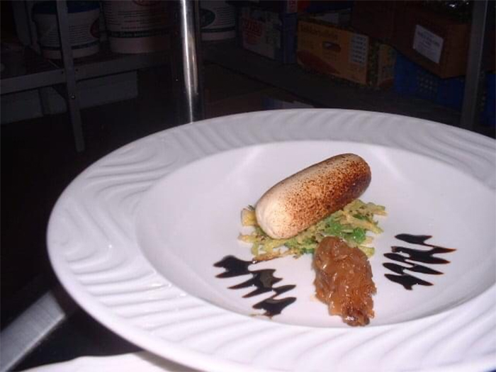 kevin nairn head chef chicken boudin