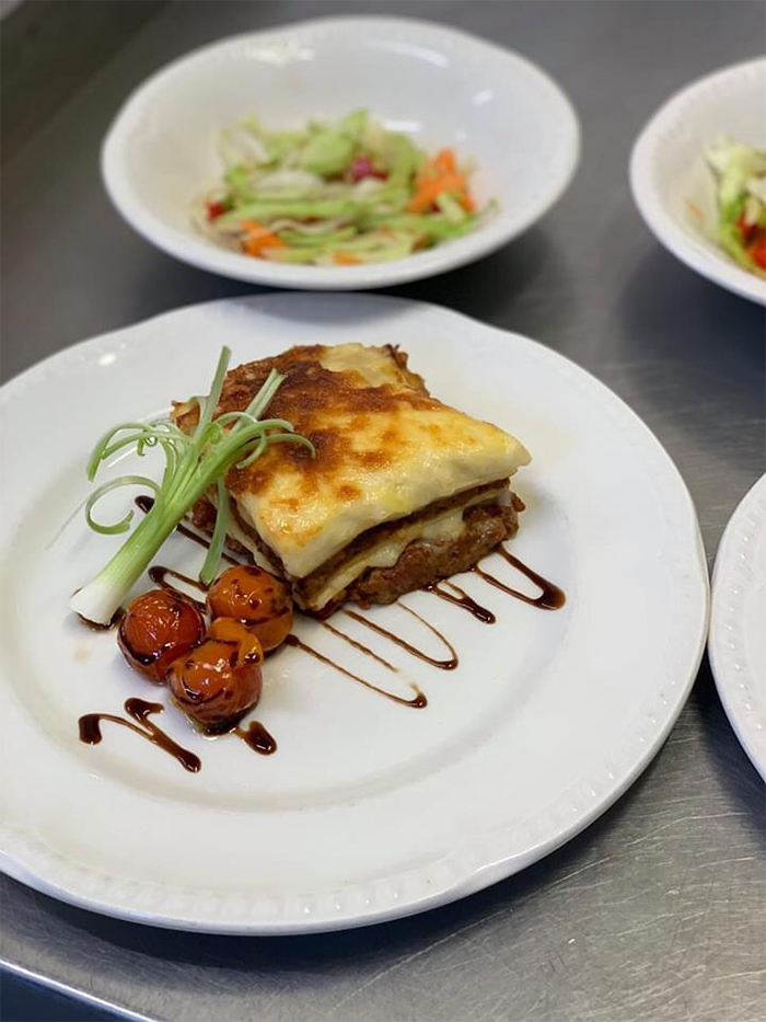 kevin nairn head chef lasagne