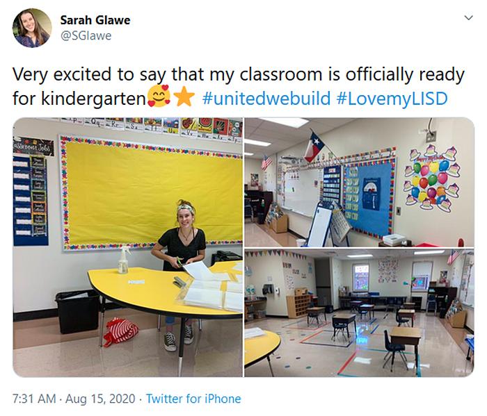 kindergarten classroom welcoming design