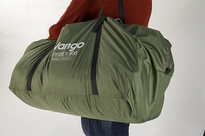 large outdoor tunnel tent carry bag