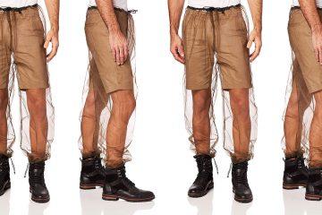 mesh bug pants