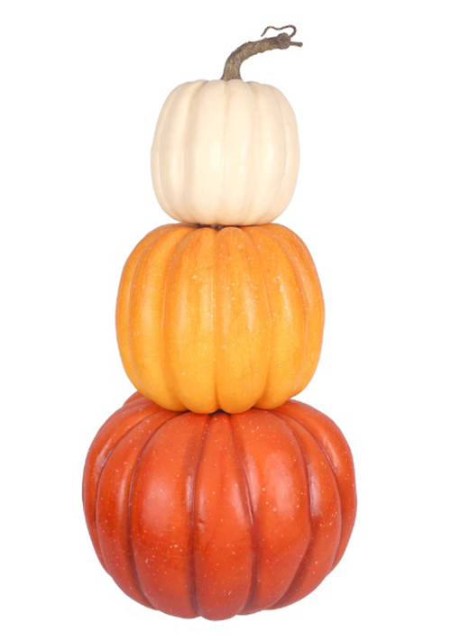 michaels halloween collection stacked pumpkin trio