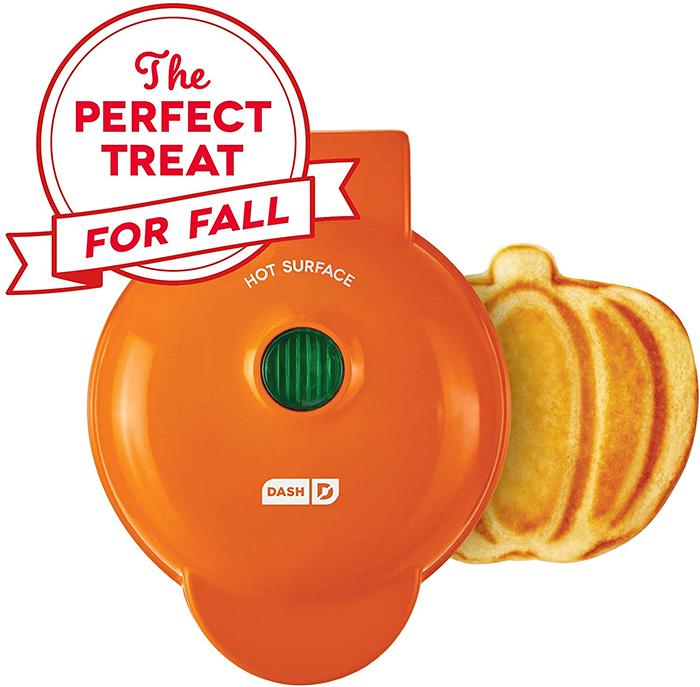 mini pumpkin waffle maker