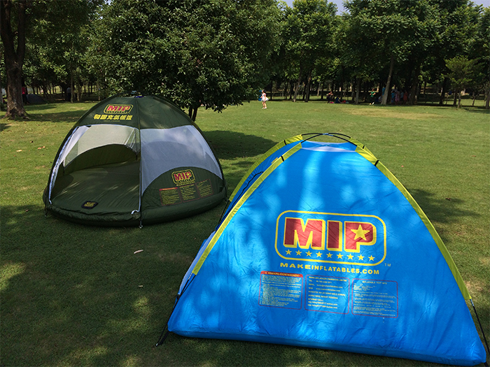 mip inflatable floating tent