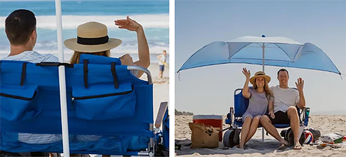 multifunctional lounge chair with umbrella