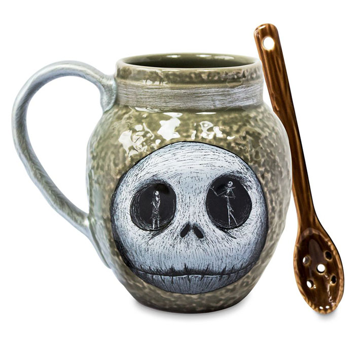 nightmare before christmas mug and spoon