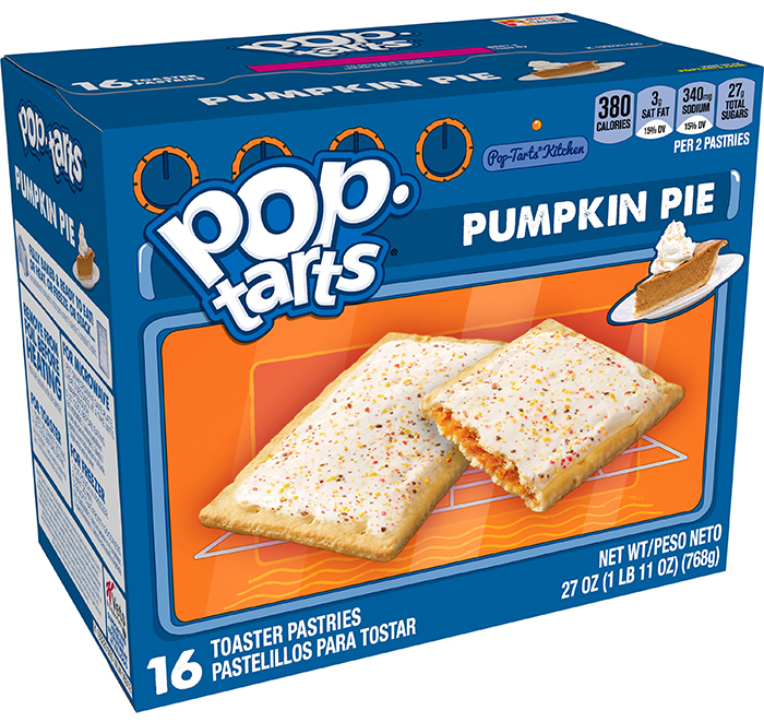 pop-tarts pumpkin pie packaging