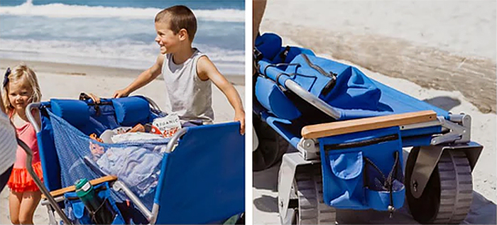 portable 3-in-1 beach wagon