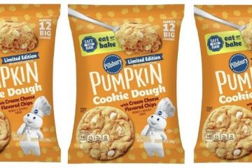 pumpkin cookie dough