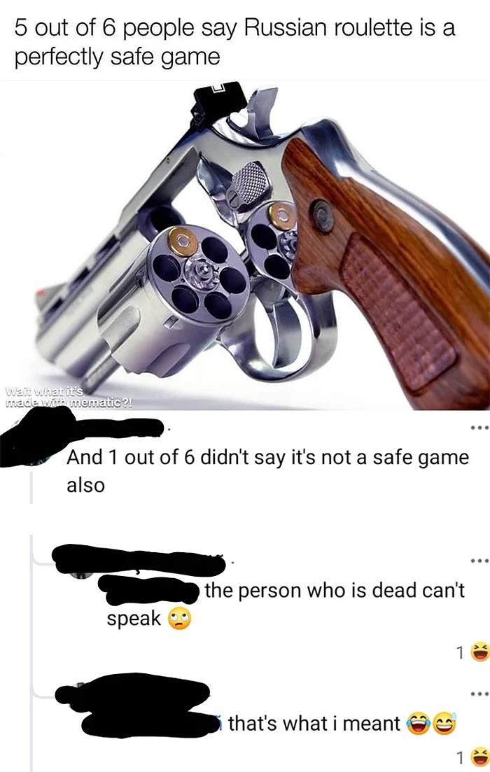 salty satire russian roulette