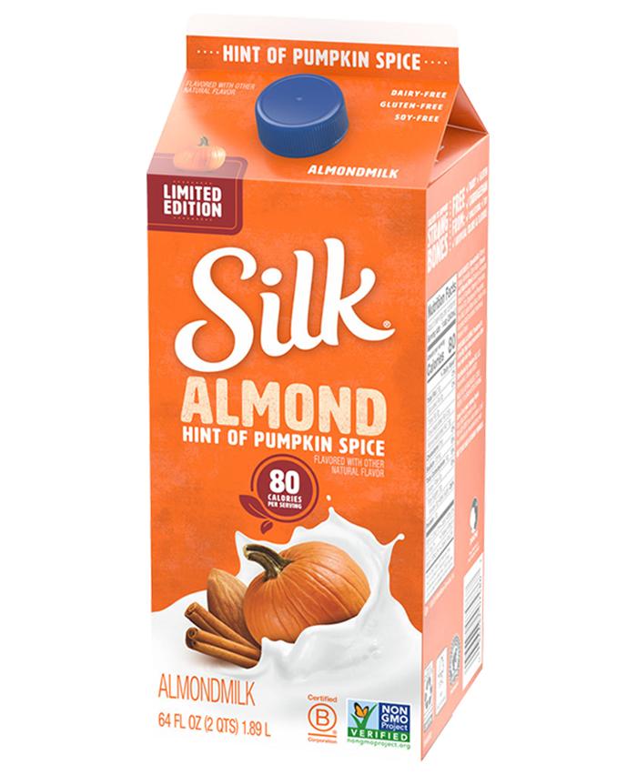 silk pumpkin spice almond milk