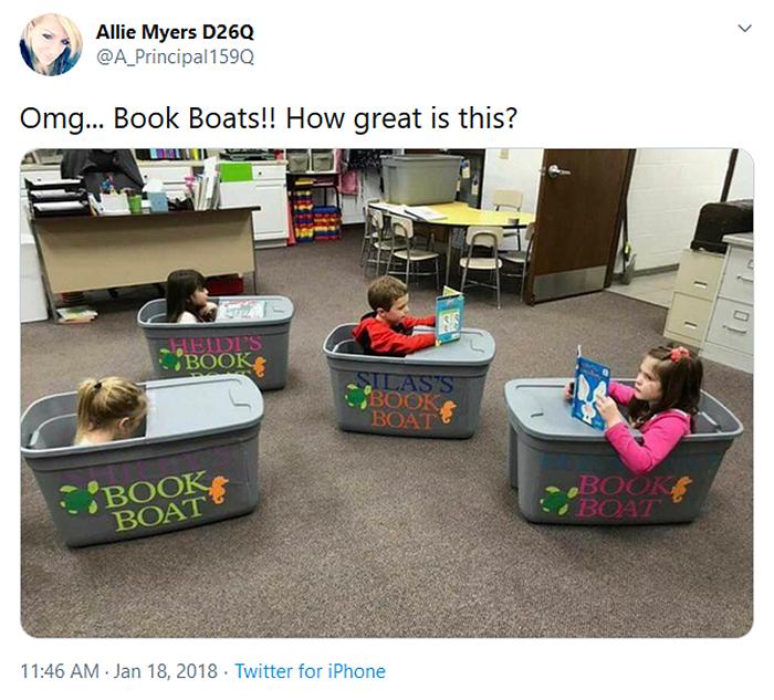 socially distanced classrooms book boats