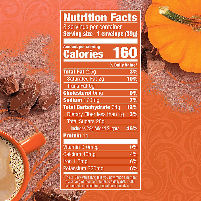 swiss miss nutrition facts
