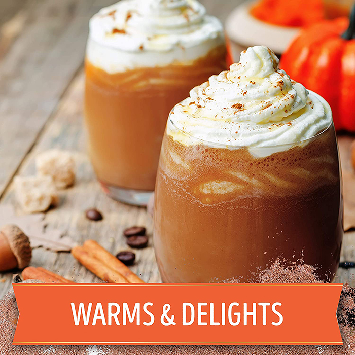 swiss miss pumpkin spice hot cocoa mix cold serving