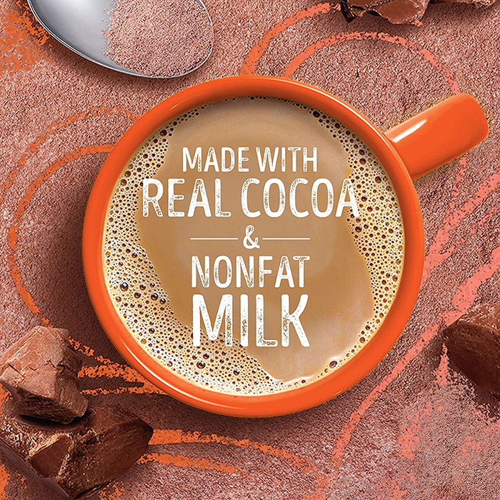 swiss miss pumpkin spice hot cocoa mix content