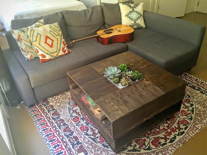 table succulent gardens