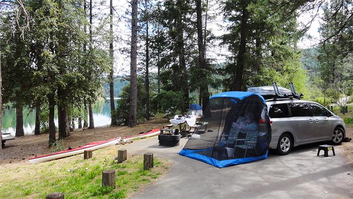 tailveil tailgate tent open rear door