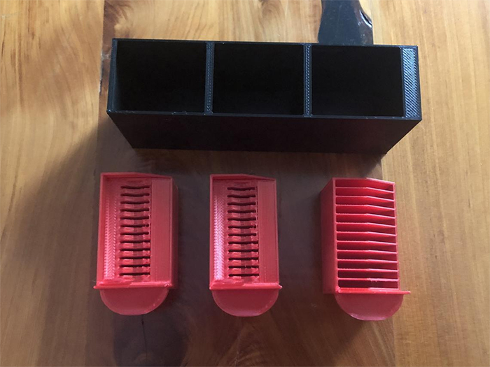 3d printed micro sd organizer
