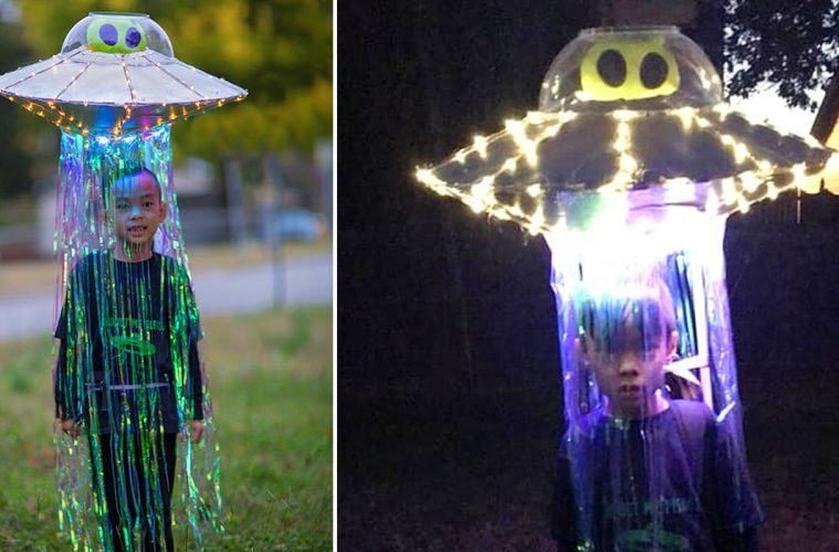 Abducted By An Alien ufo costume