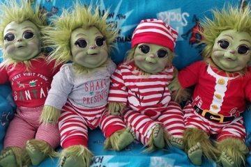 Baby Grinch Dolls